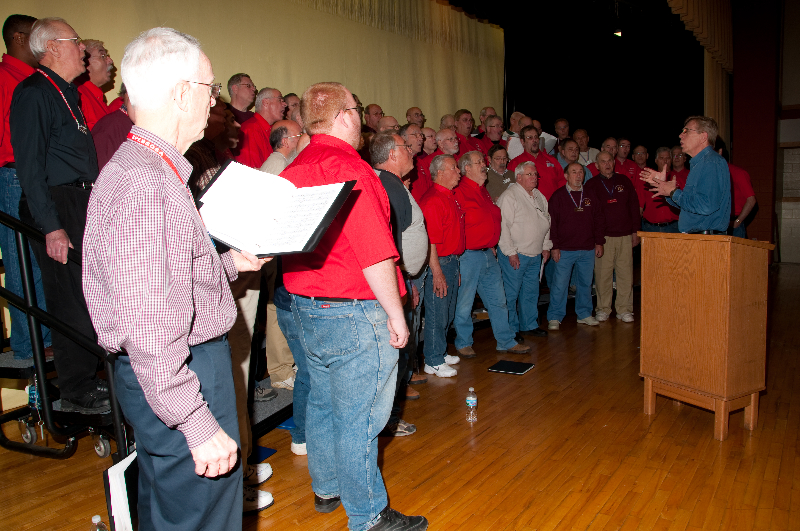 2010 - Joint rehearsal in St. Ignace with Alpena and Gaylord Chapters-4 Ted Johnson directing - May 8 2010.jpg