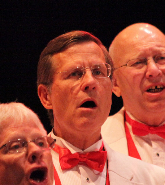 2011 - 50th Anniversary Show - Soo Theatre-Dr._Ed_Johnson with Mike Luther_Bob Holley June 4.jpg