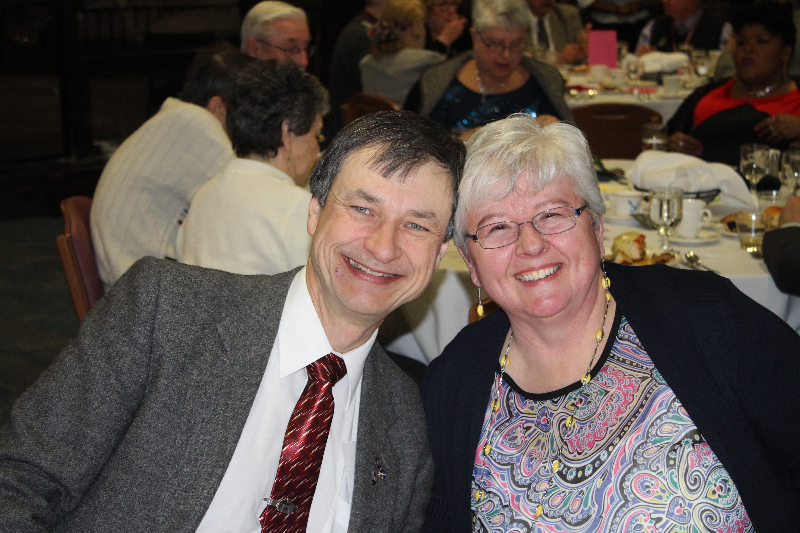 2014 - Ladies Night-Bob and Anne-Marie Shami-Feb 8 2014.JPG