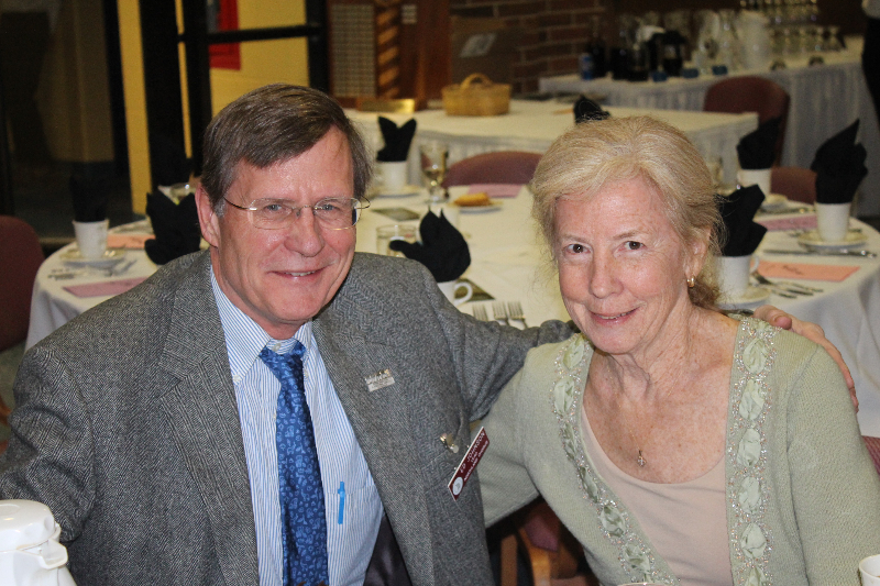 2014 - Ladies Night-Dr. Ed and Ginny Johnson-Feb 8 2014.JPG