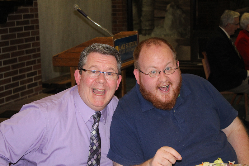 2014 - Ladies Night-Mike Doherty and Kevin Collar-Feb 8 2014.JPG