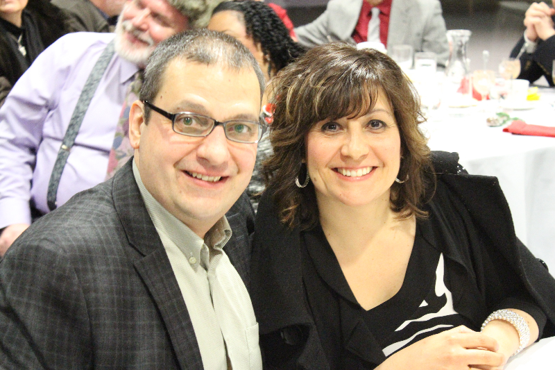 2015 Ladies Night 15 - Lou and Mara Mauro - Feb. 14 2015.JPG