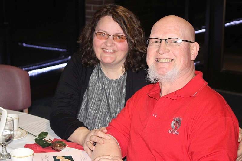 2016 Ladies Night 15 - Donna and Dale Gagnon - Feb. 13 2016.JPG