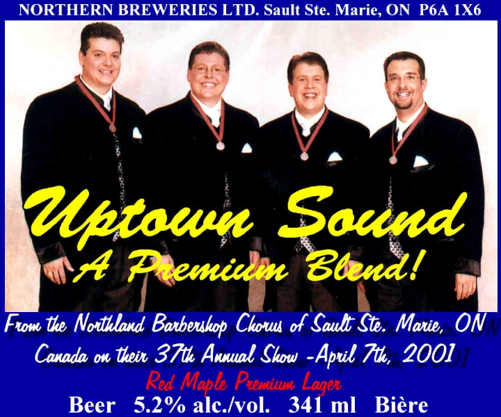 2001 - Uptown Sound Beer Label.jpg