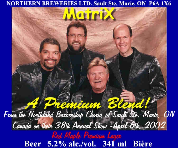2002 - MatriX Beer Label.jpg