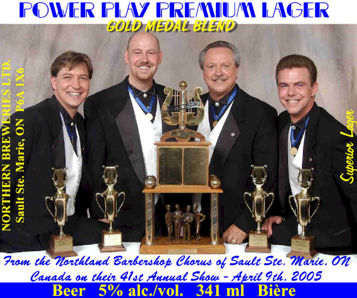 2005 - Power Play Beer Label.jpg