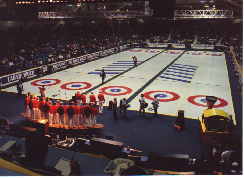 1990 - Canadian Curling Championship Brier Sault ON - Mar.4 1990.jpg