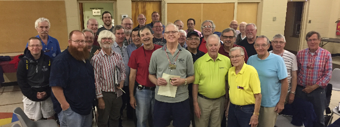 2017 - Chorus and 50 year man Al Carscadden - Sept. 11 2017.jpg