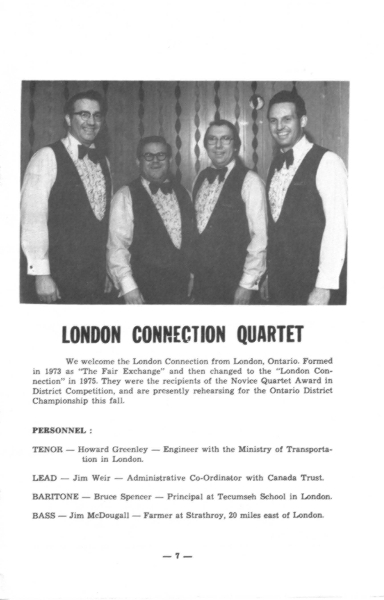 1977 - London Connection Program Photo.jpg