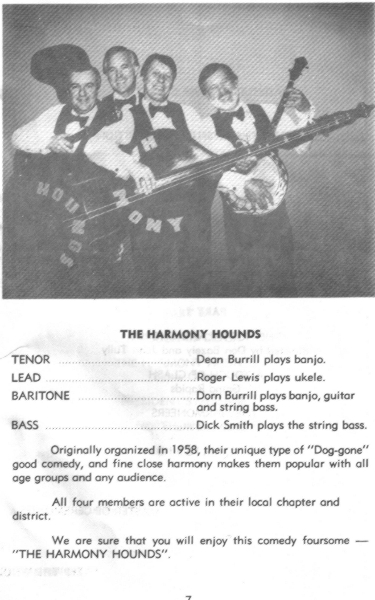 1984 - Harmony Hounds Program Photo.jpg