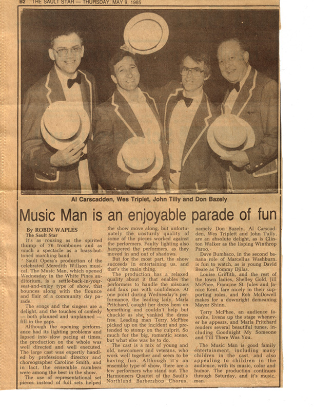 1985 - Harmoneers in Music Man.jpg