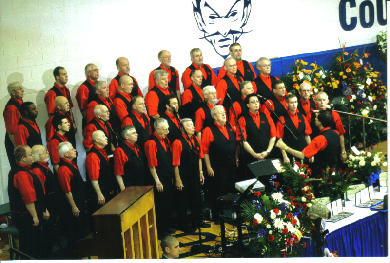 Northland Chorus at Steffey Funeral