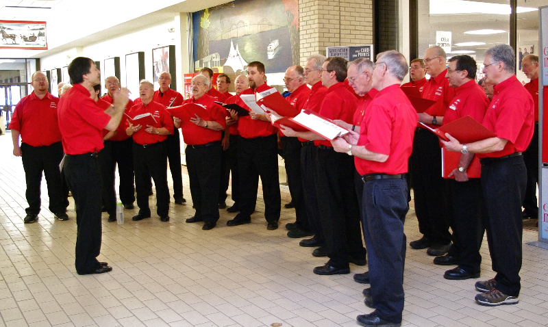 2010 - Christmas Carols at Sears - Dec. 18 2010