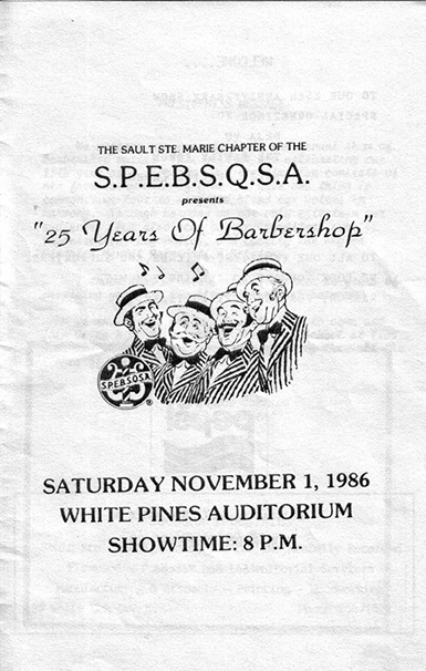 1986 - 25 Years of Barbershop 25th Anniversary Show.jpg