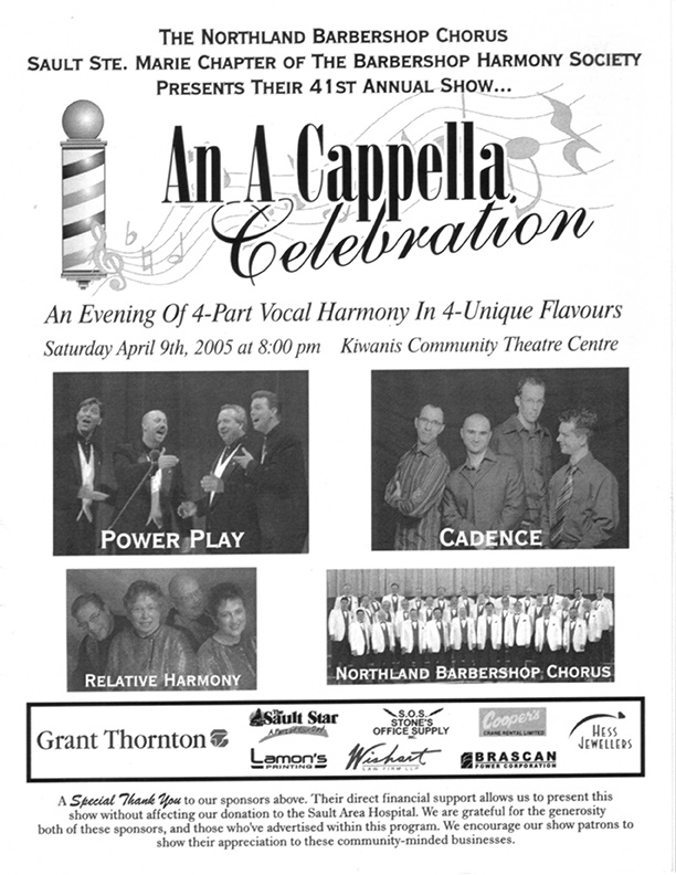 2005 - An A Cappella Celebration.jpg