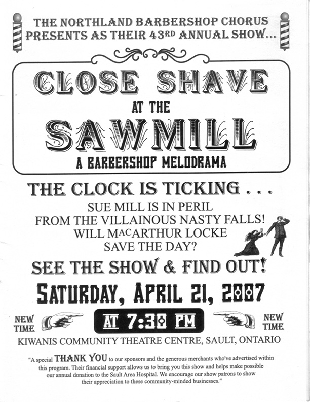 2007 - Close Shave at The Sawmill - A Barbershop Melodrama.jpg