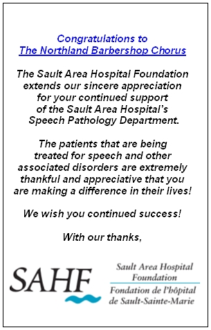 Sault Area Hospital Thank You